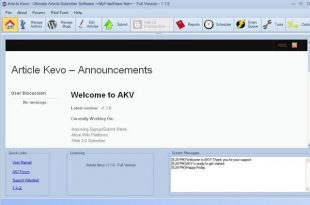 Article Kevo 1.70 Software Free Download