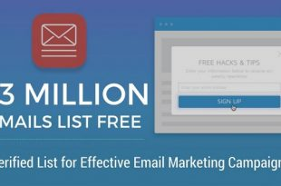 Free Email List Download 500,000 Active USA Addresses Free