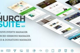 Church Suite v2.4.0 – Responsive WordPress Theme