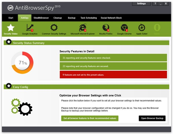 Download Abelssoft AntiBrowserSpy Pro Software Free