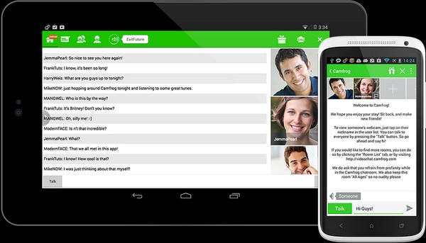 Download Camfrog APK For Android Mobile Free