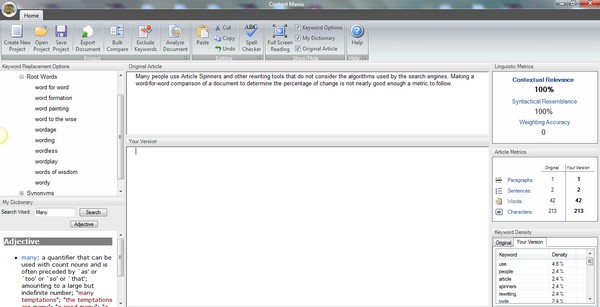 Download Content Mania Software Free