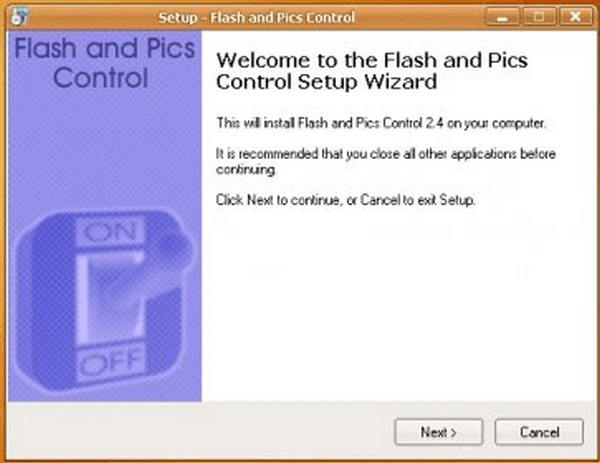 Download Flash and Pics Control 2.4 Free
