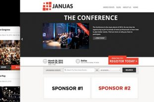 Download Free Januas v1.50 WordPress Theme