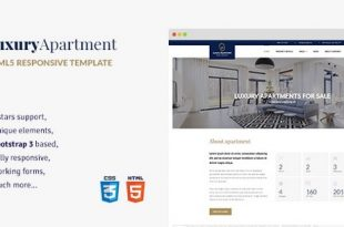 Download Free Luxury Apartment WordPress Theme v1.3