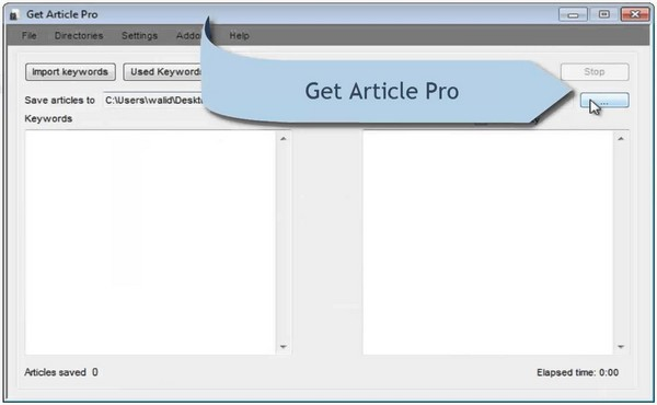 Download Get Article Pro Software Free