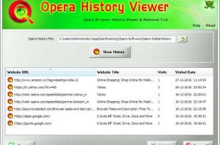 Download Opera History Viewer Free