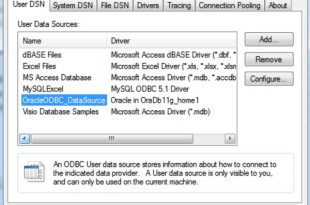 Download Oracle ODBC driver For Windows 32-64 bit