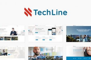 Download TechLine v1.4.5 – Web Services and Business Theme