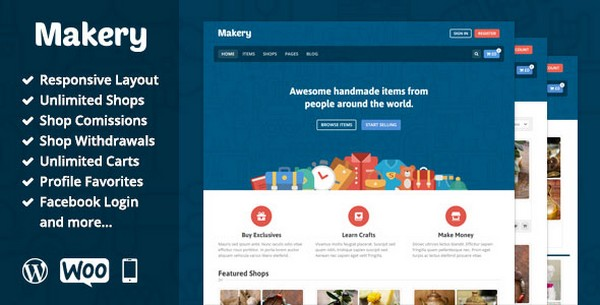 Makery V1.22 – Themeforest Marketplace WordPress Theme Download