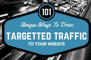 101 Ways To Drive Traffic To Your Website
