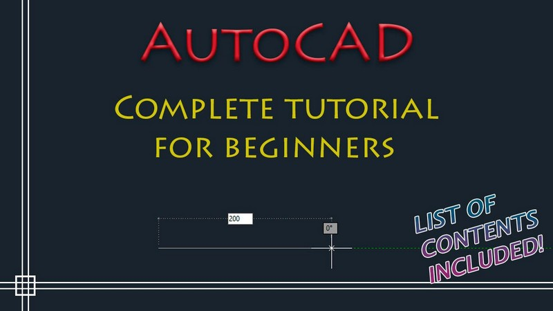AutoCAD Complete Guide Online