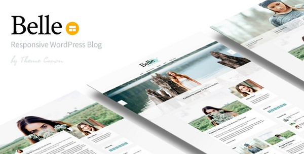 Belle v1.13 – Responsive WordPress Blog Theme