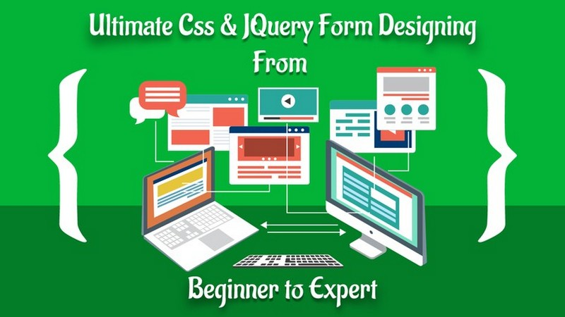 Best Css and JQuery Form Designing Course