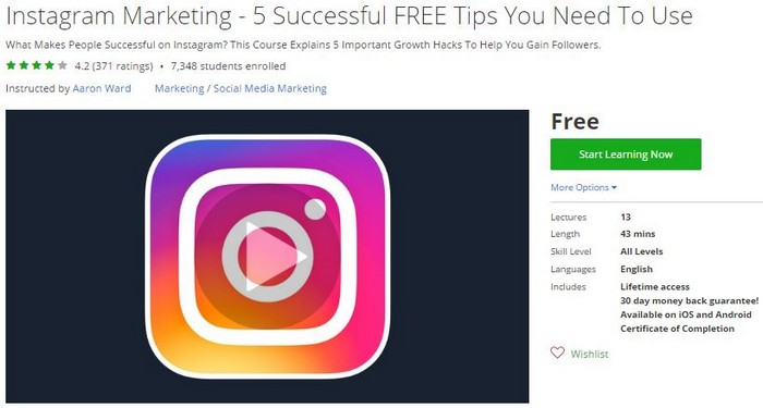 Download Instagram Marketing - 5 Successful FREE Tips You Need To Use