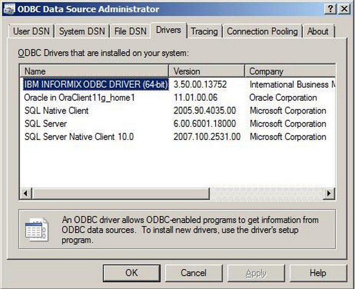 Download Oracle ODBC driver For Windows 32 - 64 bit