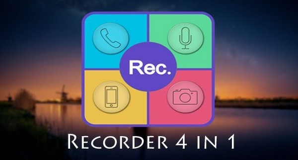 Download Recorder 4 in 1 PRO Latest Android App Free