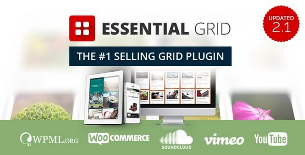 Essential Grid V2.2.2 WordPress Plugin