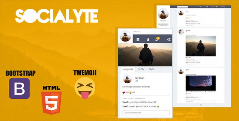 Latest Social Media Template – Unlimited Download