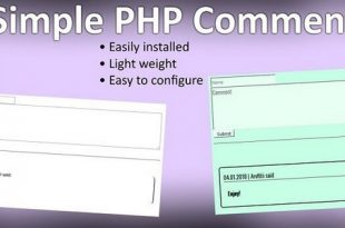 Simple PHP Script Comments Download