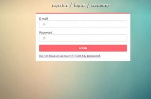 Simple Safe Login System PHP v1.0 - PHP Scripts