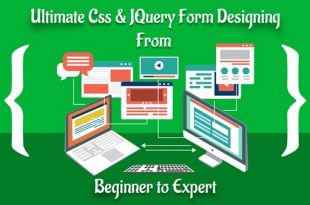 Ultimate Css & JQuery Form Designing Course