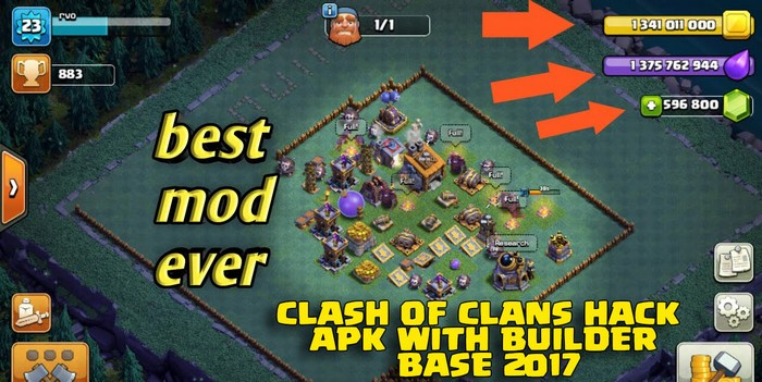Clash of Clans Mod To Easily Upgrade Your Builder Base