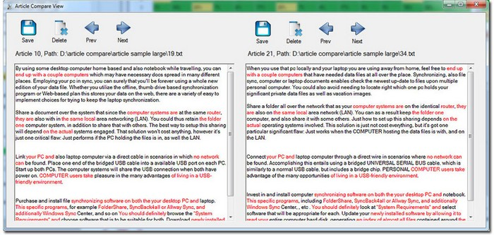 Download Duplicate Content Checker Software Free