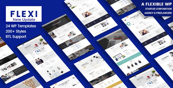 Download Free Flexi v2.8 - Flexible WordPress Theme