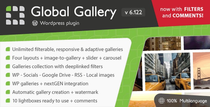 Download Global Gallery - WordPress Plugin Responsive Gallery