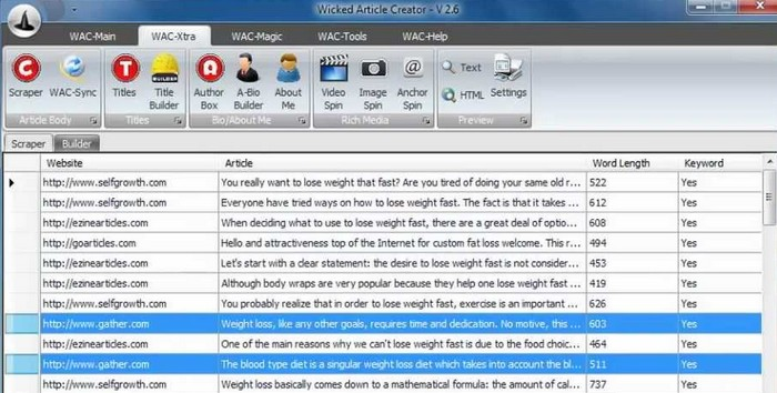 Download Latest Wicked Article Creator Free