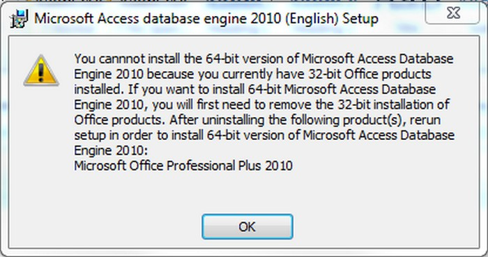 Download Microsoft Access Database Engine 2016 Redistributable