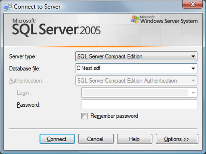 Download Microsoft SQL Server 2005 Compact Edition Free