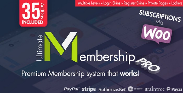 Download Ultimate Membership Pro WordPress Plugin Free