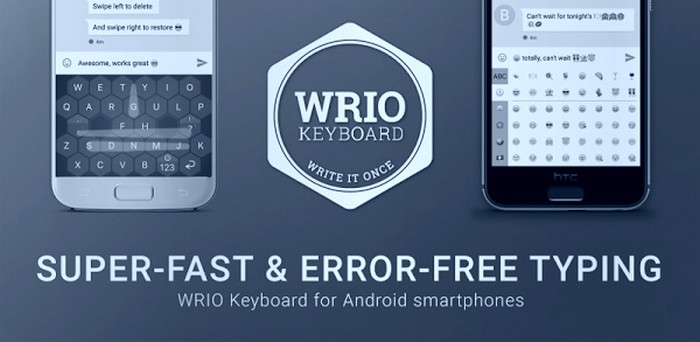 Download WRIO Keyboard +Emoji Apk Free