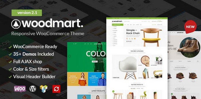Download WoodMart - Responsive WooCommerce WordPress Theme