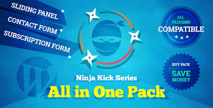 Ninja Kick Series - All in One Pack WordPress Plugin Download
