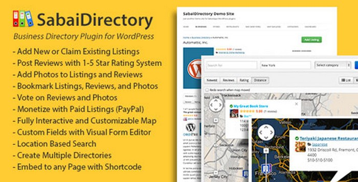 Sabai Directory for WordPress Plugin Download Free
