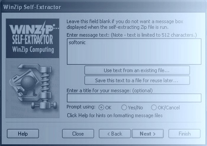 WinZip Self-Extractor Download For Windows [FREE]