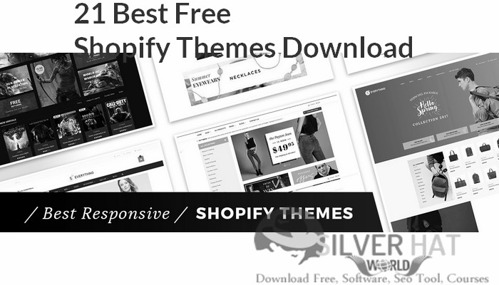 21 Best Free Shopify Themes Download