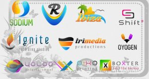 300 Logo PSD Templates Download