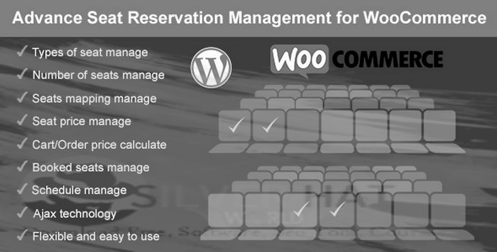 Advance Seat Reservation Management for WooCommerce Plugin