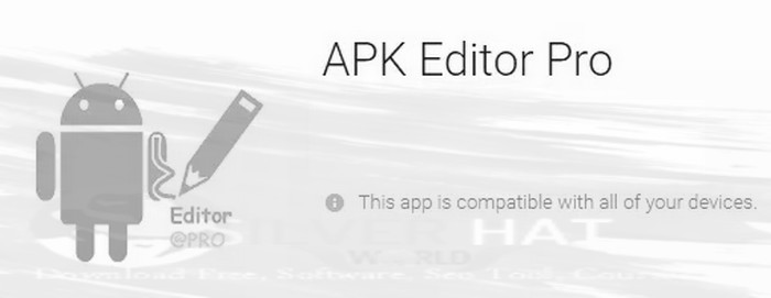 Download APK Editor Pro For Android App Free