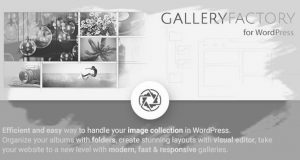 Download Gallery Factory - WordPress Plugin