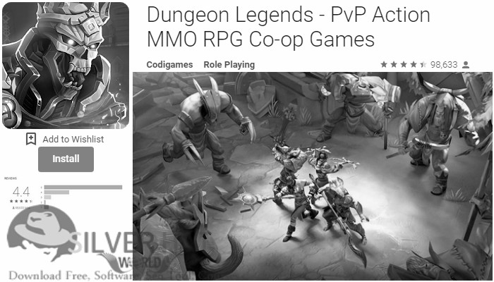 Dungeon Legends - PvP Action MMO RPG Co-op Games APK Download