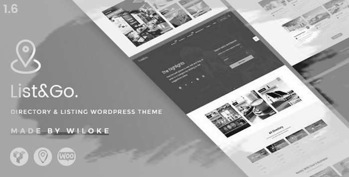 ListGo - Directory WordPress Theme
