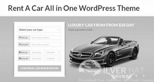 Rentit - Car Bike Vehicle Rental WordPress Theme