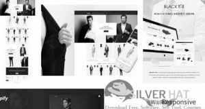 SilverHat Men's Fashion Shopify Theme Download
