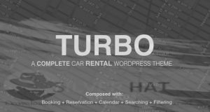 Turbo - Car Rental System WordPress Theme Download