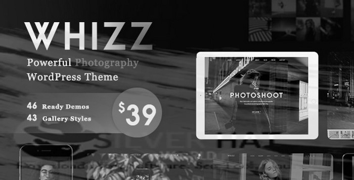 Whizz - Photography WordPress for Photography Download